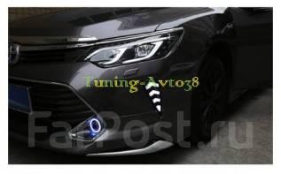 Накладка на фару. Toyota Camry, ASV50, AVV50, GSV50 Двигатели: 2ARFE, 2ARFXE, 2GRFE