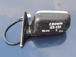 Зеркало заднего вида боковое. Toyota Crown, GS131, GS131H Двигатель L