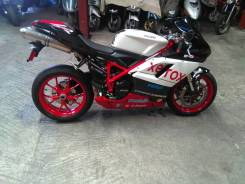 Ducati 848 Evo. 848 куб. см., исправен, птс, без пробега