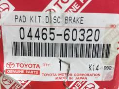 Колодка тормозная. Toyota Land Cruiser Toyota Land Cruiser Prado, TRJ150, GRJ151, GRJ150 Двигатели: 1GRFE, 2TRFE