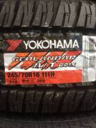 Yokohama Geolandar A/T G015. Грязь AT, 2017 год, без износа, 4 шт. Под заказ