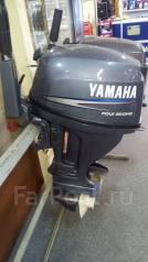 Yamaha. 4-тактный, бензиновый, нога S (381 мм), Год: 2005 год