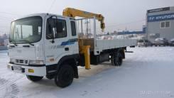 Hyundai HD120. Кран манипулятор 4WD ! Механический ТНВД !, 6 607 куб. см., 6 000 кг.