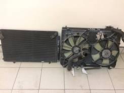 Радиатор охлаждения двигателя. Toyota Kluger V