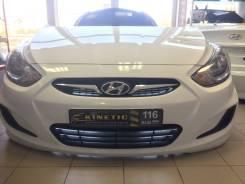 Капот. Hyundai Solaris