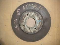 Диск тормозной. Toyota Succeed, NCP50, NCP55V, NCP51, NCP58G, NCP55, NCP52, NCP58, NCP51V Toyota Probox, NCP58G, NCP51, NCP50, NCP52, NCP55, NCP51V, N...