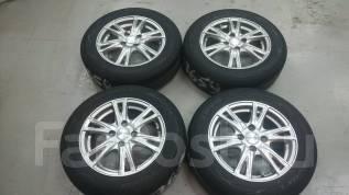Продам отличный комплект японских колёс 175/65R14!. 5.5x14 ET45 ЦО 68,0мм.