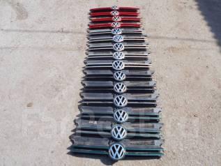 Решетка радиатора. Volkswagen Golf, 1E7, 1J1, 1J5 Двигатели: AAM, ADZ, AEH, AFN, AFT, AGG, AGN, AGP, AGR, AGU, AGZ, AHF, AHU, AHW, AJM, AKL, AKQ, AKR...