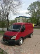 ГАЗ Газель. Продам цельнометалический фургон, 2 400 куб. см., 1 498 кг.