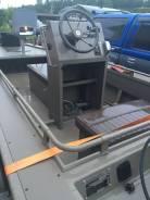 Алюминиевый катер. Год: 2014 год, длина 5 150,00м., двигатель подвесной, 35,00л.с., бензин