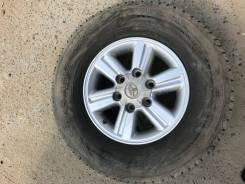 Продам комплект колес на хайлюкс. 7.0x15 6x139.70 ET10