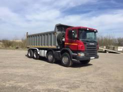 Scania. Самосвал P380 колеса 8х4 2011 года пробег 385 тыс. км., 12 000 куб. см., 33 000 кг.