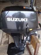 Suzuki. 9,90л.с., 2х тактный, бензин, нога S (381 мм), Год: 2013 год
