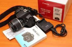 Canon EOS 650D Kit. 20 и более Мп, зум: 5х