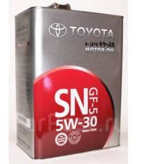 Toyota. Вязкость 5w30, минеральное