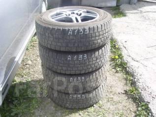 Комплект зимних шин 195/65 R-15 c литьем 5х100 5х114. 6.0x15 5x100.00, 5x114.30 ET43 ЦО 73,0мм.