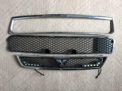 Решетка бамперная. Mitsubishi Lancer X