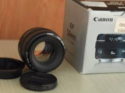 Объектив Canon 50mm 1.4. Для Canon, диаметр фильтра 58 мм