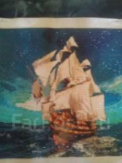 Картина из алмазной мозаики на день ВМФ