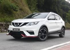 Обвес кузова аэродинамический. Nissan Qashqai, J11. Под заказ