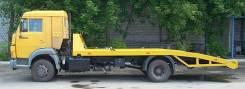 Камаз 4308. Автоэвакуатор с ломаной платформой, 3 900 куб. см., 6 000 кг.