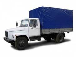 ГАЗ 3309. Автофургон тентованный (4х2), 4 750 куб. см., 4 500 кг.