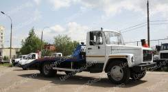 ГАЗ 3309. Автоэвакуатор с ломаной платформой, 4 750 куб. см., 3 900 кг.