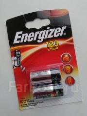 Литиевый элемент питания (батарейка) Energizer CR 123