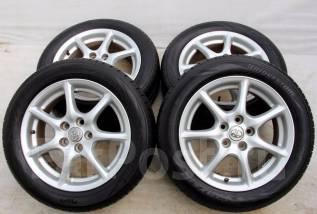 Колёса с шинами =Toyota= R17! 2014 год! 8 мм! (№ 55460). 7.0x17 5x114.30 ET50