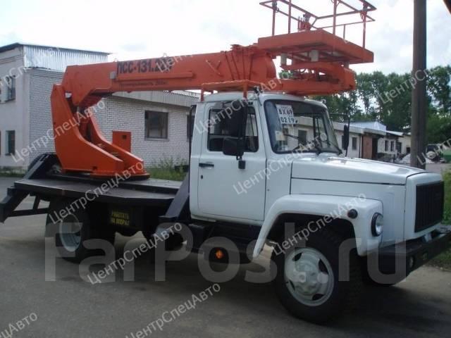 ГАЗ-33081. Автогидроподъемник ГАЗ 33081 / ГАЗ 33088 (4х4), 4 750куб. см., 18м.