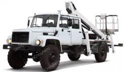 ГАЗ-33081. Автогидроподъемник ГАЗ 33081 / ГАЗ 33088 (4х4), 4 750 куб. см., 18 м.