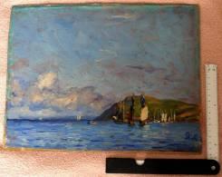 Частица истории Владивостока - отличный живописный этюд 1904 года. Оригинал