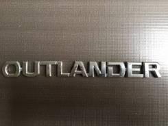 Эмблема багажника. Mitsubishi Outlander, GF3W, GF2W, GF4W, GF7W, GF8W