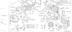 Сервопривод заслонок печки. Subaru Legacy, BHC, BHE, BEE, BES, BH5, BE5, BH9, BE9 Двигатели: EJ206, EJ208, EJ254, EJ201, EJ202, EZ30D, EJ204