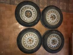 Колеса в сборе R15 195 65 шипованые. x15