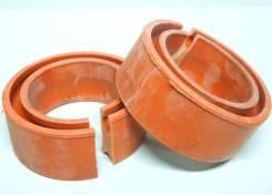 Проставка пружины ваз 2108-15 1118 калина 2170 приора 2190 гранта межвитковая круглые красные из 2шт