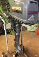 Suzuki. 4,00л.с., 2х тактный, бензин, нога S (381 мм), Год: 2000 год