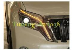 Фары передние тюнинг Mercedes Toyota Land Cruiser Prado J150L 2013-