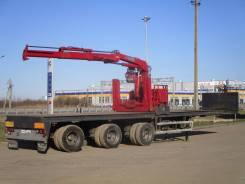 Hiab. Платформа с КМУ , 37 000 кг.