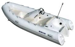 Лодка BRIG Eagle E380L. Год: 2017 год, длина 3,80м., двигатель подвесной, бензин