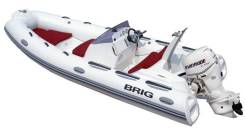 BRIG Eagle E480. Год: 2017 год, двигатель подвесной, бензин
