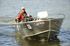 Моторная лодка Quintrex 420 Top Ender. Год: 2016 год, двигатель подвесной, бензин