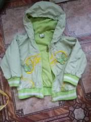 Куртка для ребенка на дачу.