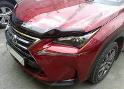Дефлектор капота. Lexus NX200t, AGZ10, AGZ15 Lexus NX200, ZGZ10, ZGZ15 Lexus NX300h, AYZ15, AYZ10. Под заказ