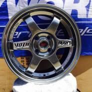 RAYS VOLK RACING TE37. 6.5x15, 4x100.00, ET35, ЦО 73,1мм.