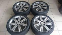 Красивые оригинальные диски Toyota R18 + лето Bridgestone Ecopia Japan. 7.5x18 5x114.30 ET39