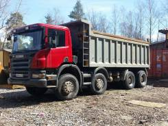 Scania P380CB 8x4 EHZ. Scania P380.8х4.2010г. - Самосвал., 12 816 куб. см., 33 000 кг.