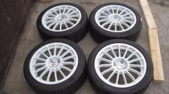 Oz racing r17 4x108, 7j, ET17 + резина Pirelli 215x45 r17. 7.0x17 4x108.00 ET17 ЦО 65,0 мм.