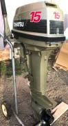 Tohatsu. 15,00л.с., 2х тактный, бензин, нога S (381 мм), Год: 2001 год