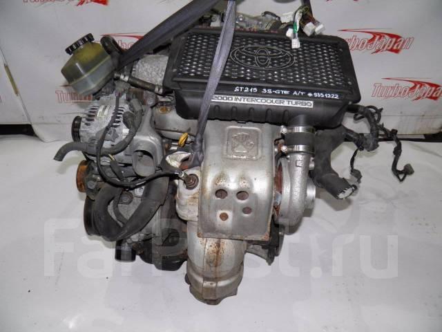 двигатель на toyota caldina gt-t